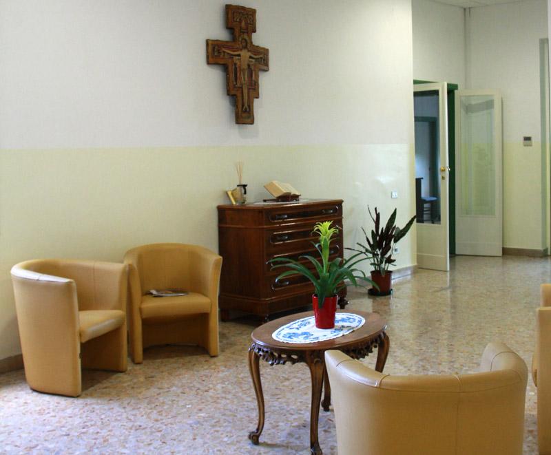 Seminario Arcivescovile di Fermo, entrata della Casa del Clero