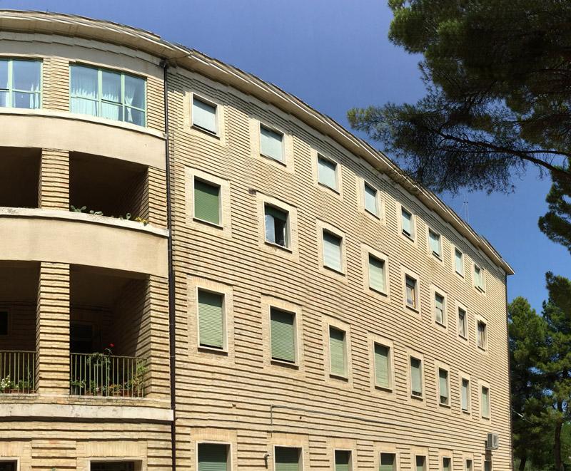 Seminario Arcivescovile di Fermo, esterno della struttura