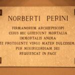 La lapide di Norberti Perini