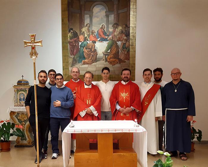 Inizio del ministero di padre spirituale del seminario di don Luigi Traini